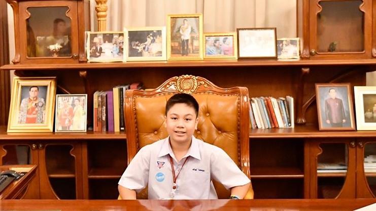 ทำเนียบ วันเด็กแห่งชาติ เก้าอี้นายกรัฐมนตรี