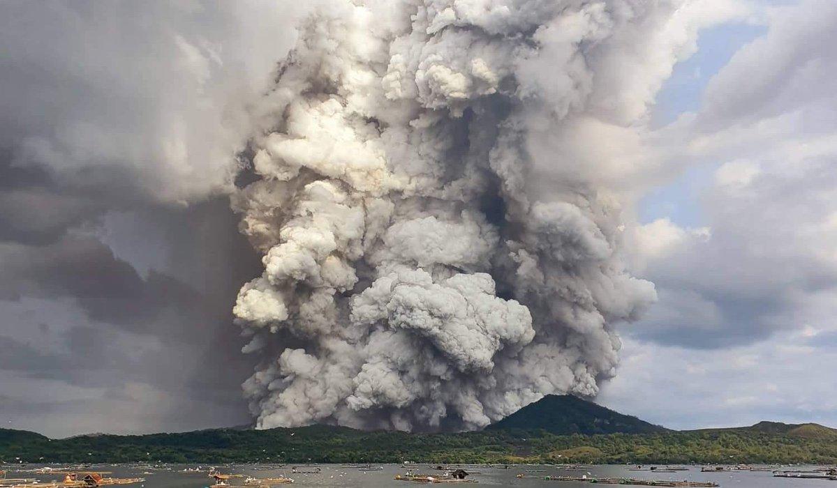 ข่าวฟิลิปปินส์ ข่าวสดวันนี้ ภูเขาไฟตาอัล