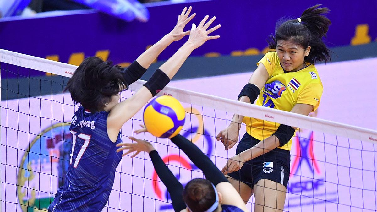 ทีมชาติเกาหลีใต้ ทีมชาติไทย ผลวอลเลย์บอล วอลเลย์บอลหญิง โอลิมปิกเกมส์ 2020