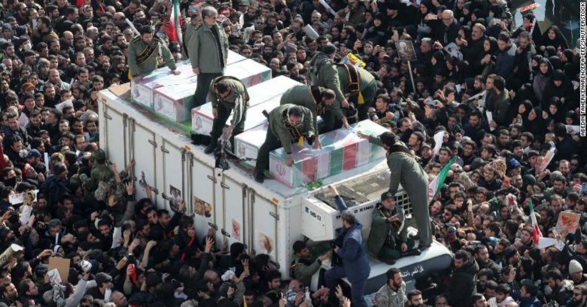 นายพลชาวอิหร่าน เหยียบกันตาย