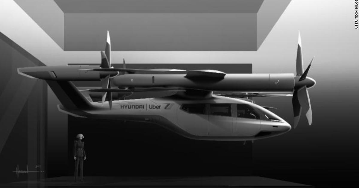 อูเบอร์ ฮุนได แท็กซี่ไฟฟ้าบิน