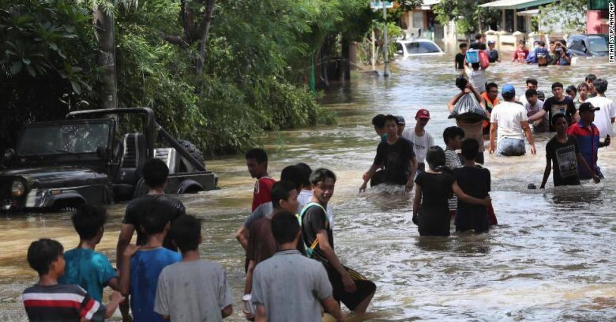 ข่าวสดวันนี้ จาการ์ตา น้ำท่วม