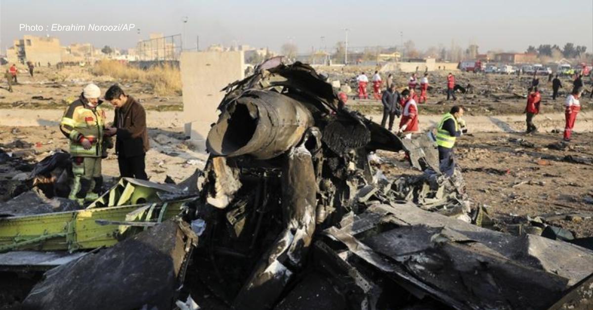 ข่าวสดวันนี้ อิหร่าน เหตุยิงเครื่องบินยูเครนตก