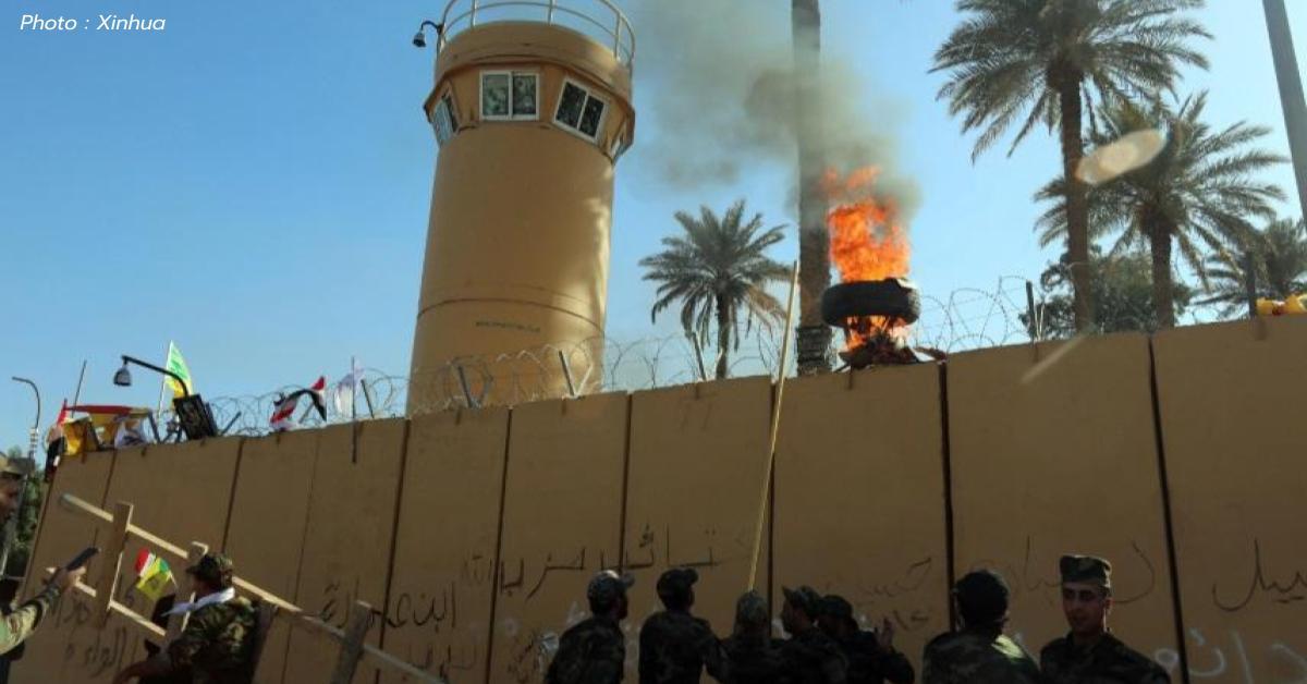 การโจมตีทางอากาศ ข่าวสดวันนี้ อิรัก