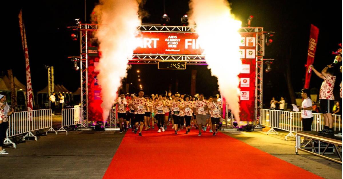 AIDS -Almost Zero Run ข่าวสดวันนี้ วิ่งอีกนิดพิชิตเอดส์