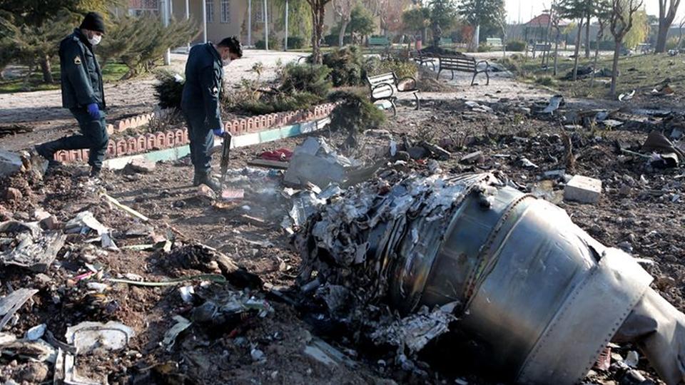 ประเทศอิหร่าน เครื่องบินยูเครนตก