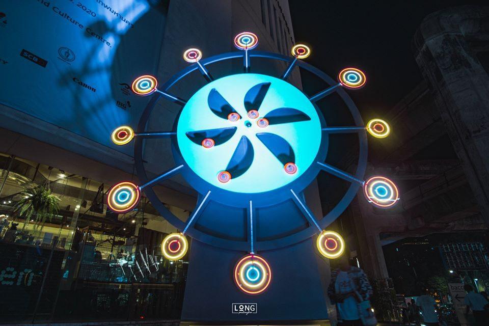 จรัส Light Fest ที่เที่ยวกรุงเทพ ที่เที่ยวถ่ายรูป นิทรรศการ นิทรรศการศิลปะ พลังงานสงอาทิตย์ หอศิลปวัฒนธรรมกรุงเทพ หอศิลป์กรุงเทพ เทศกาลศิลปะแสง เทศกาลศิลปะแสงกลางแจ้ง เที่ยวกรุงเทพ