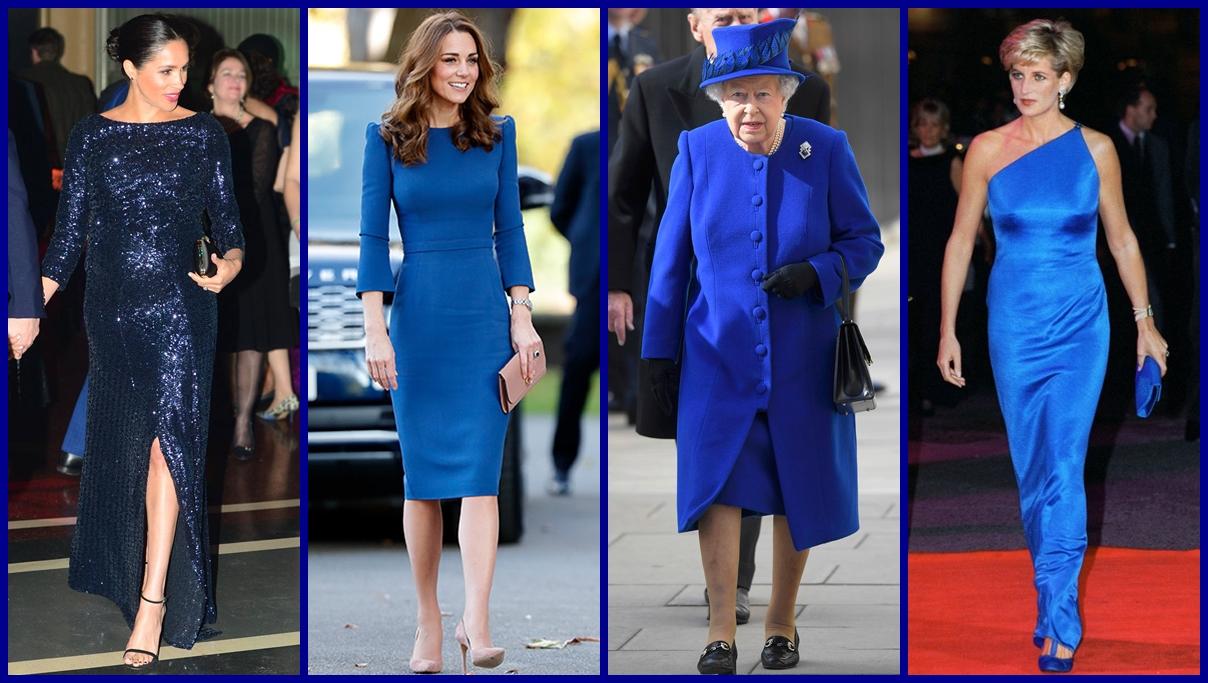 Classic blue Pantone 2020 สมาชิกราชวงศ์
