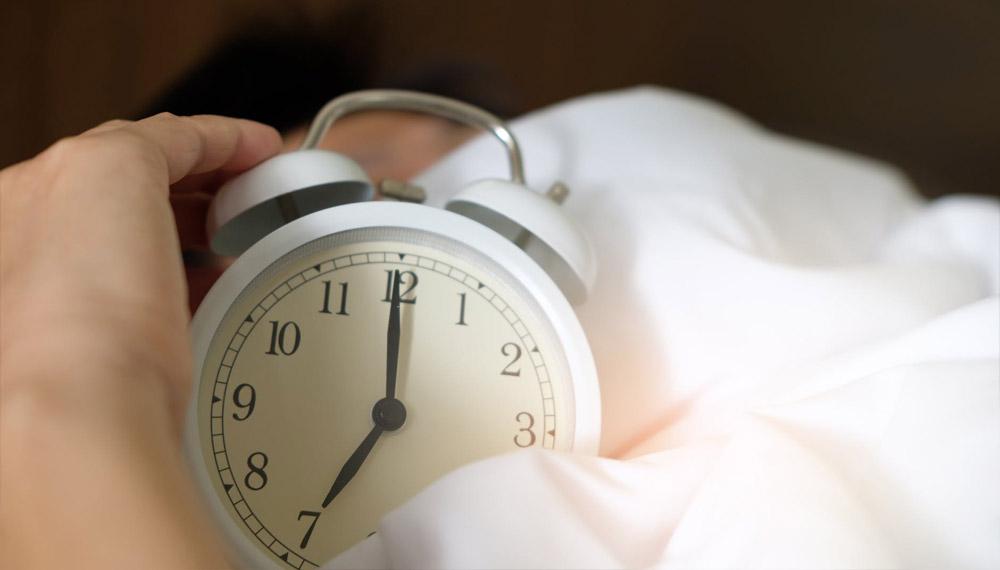 ตื่นนอน นาฬิกาปลุก