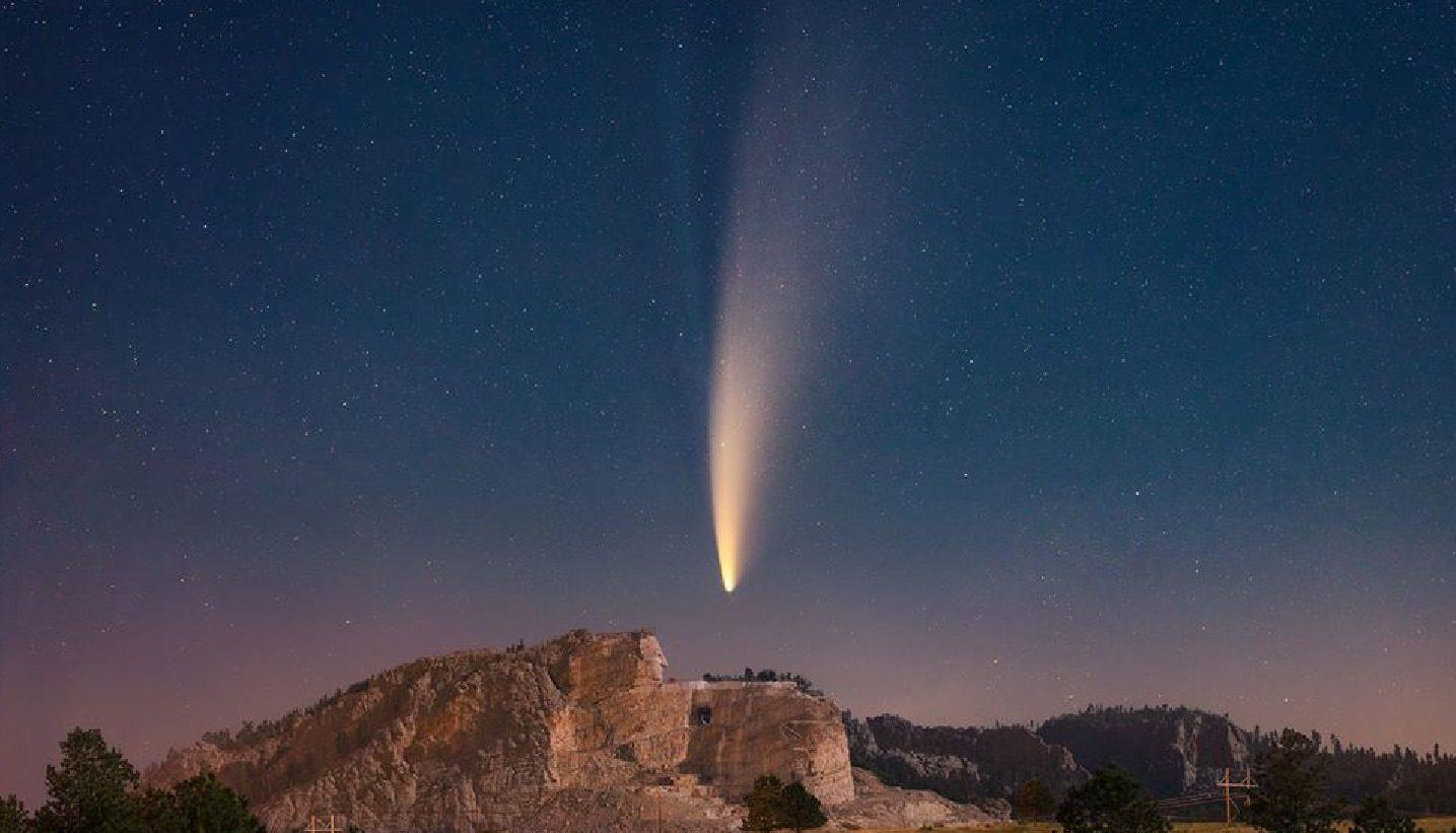 ดาวหางนีโอไวส์ ปรากฏการณ์ธรรมชาติ