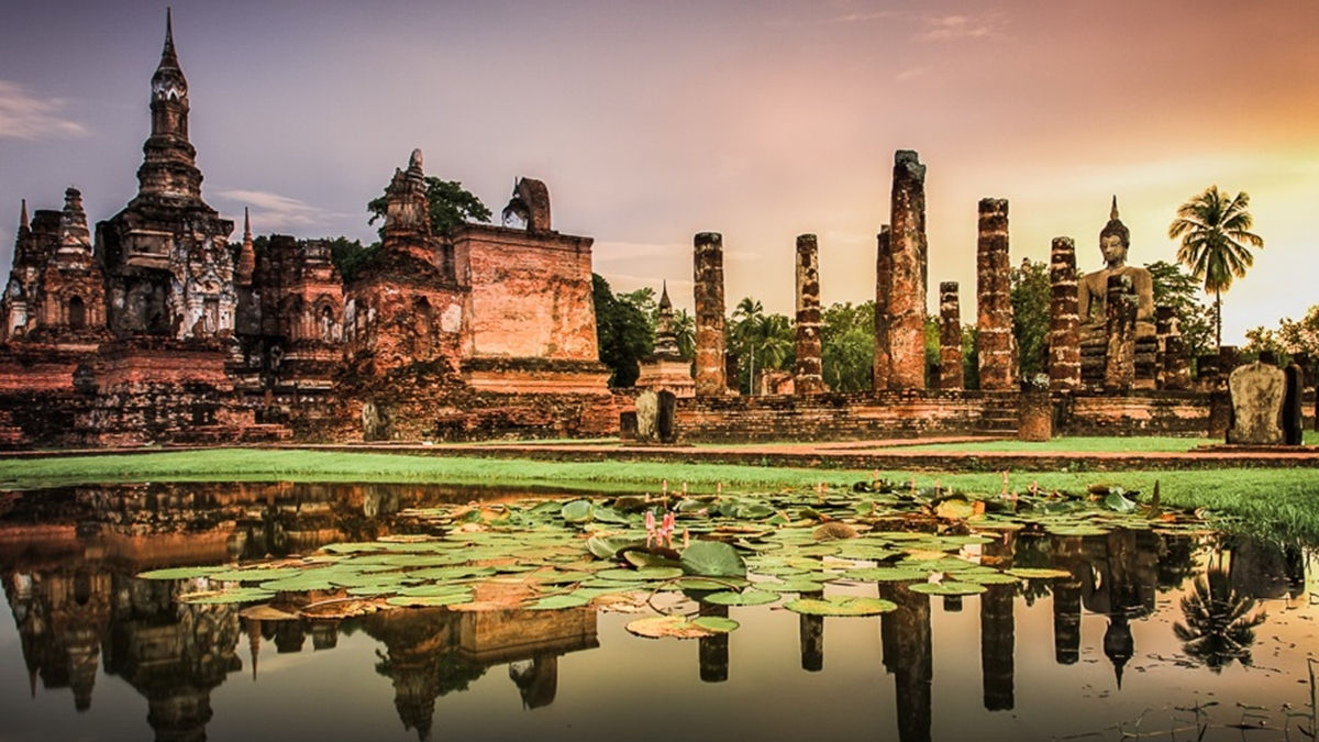 ที่เที่ยวใกล้กรุงเทพ เที่ยวไทย โบราณสถาน