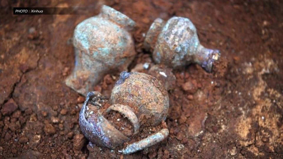 หลุมศพขุนนางไห่ฮุน อุทยานโบราณวัตถุ