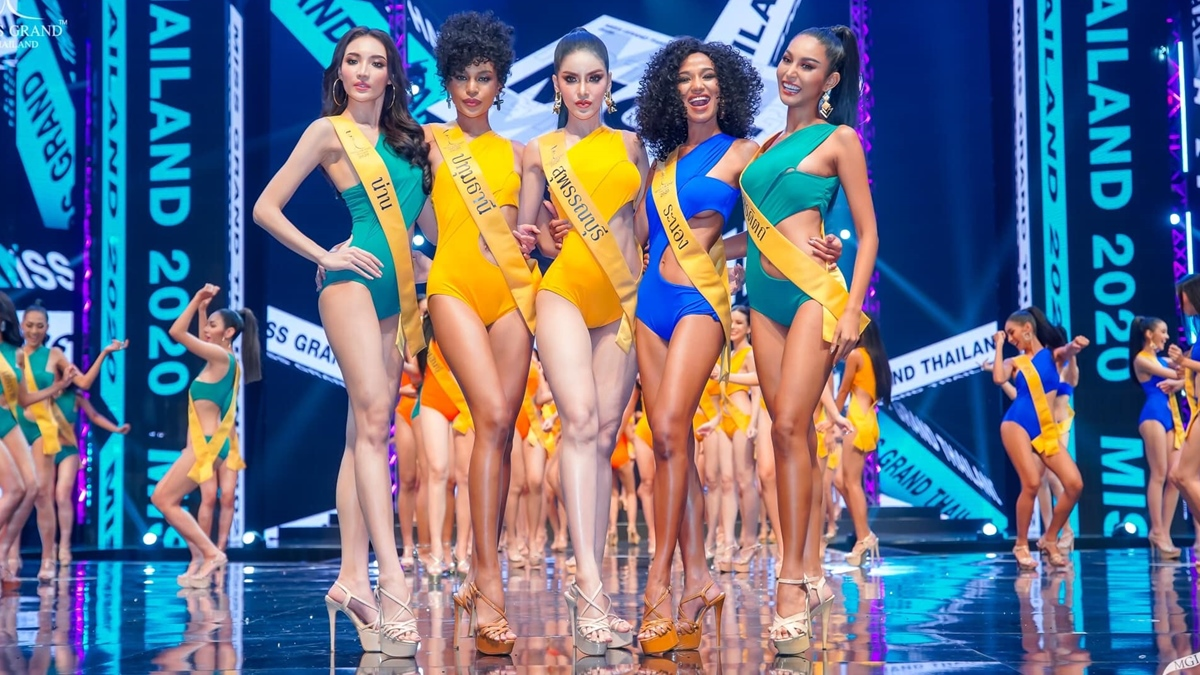 ชุดว่ายน้ำนางงาม ชุดว่ายน้ำมิสแกรนด์ไทยแลนด์ มิสแกรนด์ไทยแลนด์ มิสแกรนด์ไทยแลนด์2020