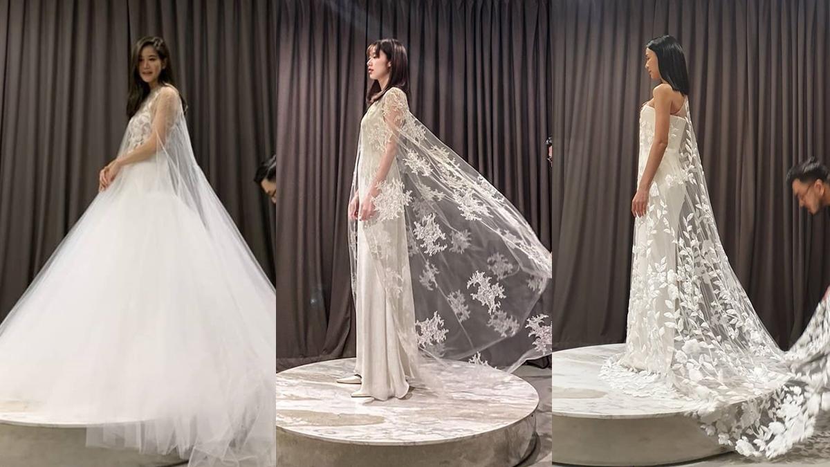 Asavaชุดแต่งงาน ก้อย จริญญา ก้อย รัชวิน ชุดเจ้าสาว รถเมล์ คะนึงนิจ เจ้าสาวคนดัง