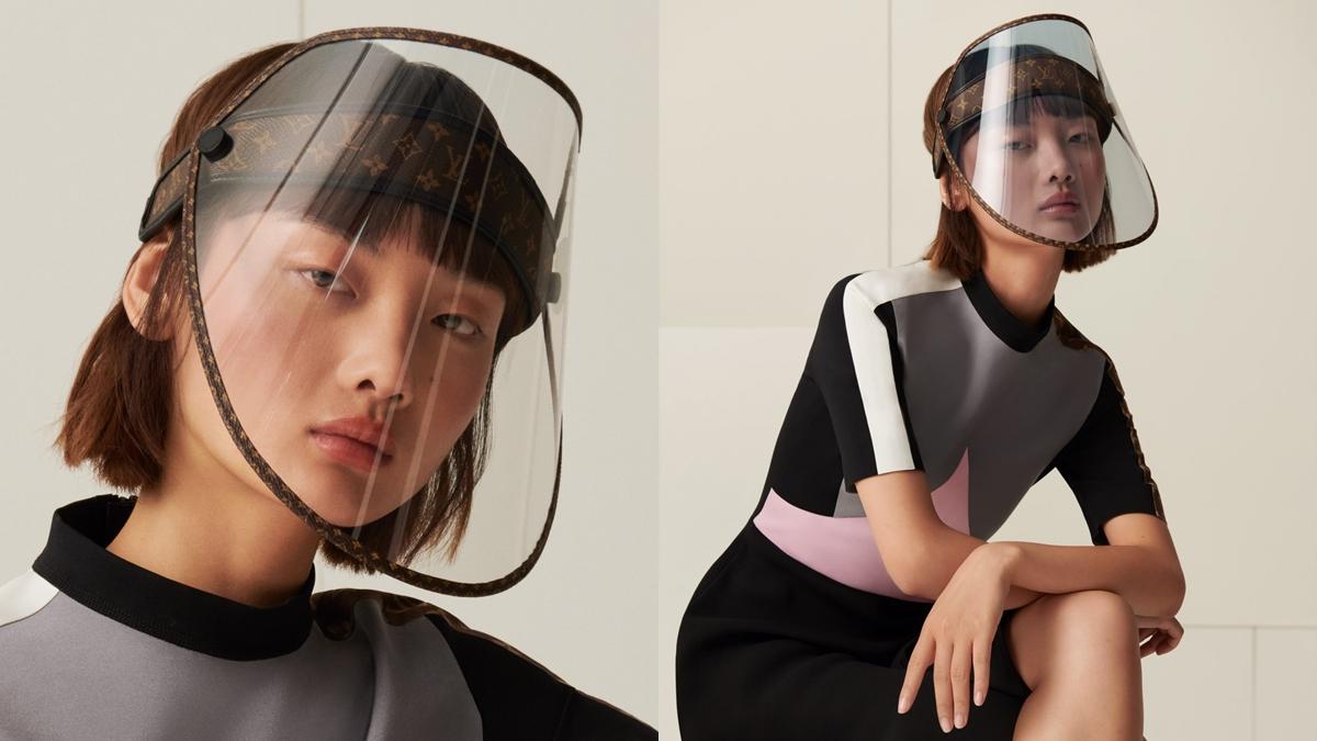 Louis Vuitton เฟซชิลด์ แฟชั่น