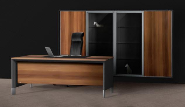 modernform. ผู้บริหาร โต๊ะทำงาน