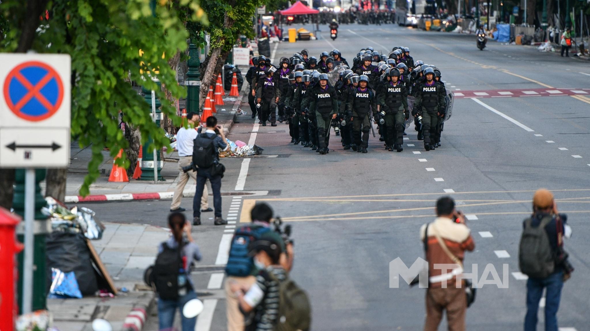 การชุมนุม ชุมนุมทางการเมือง ม็อบ14ตุลา สั่งย้ายตำรวจ