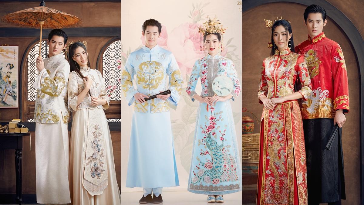 ชุดแต่งงาน ชุดแต่งงานจีน