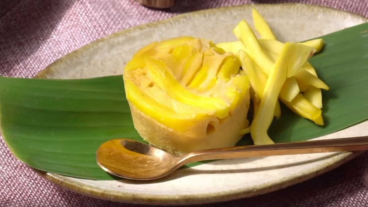 food สังขยา สูตรขนมไทย