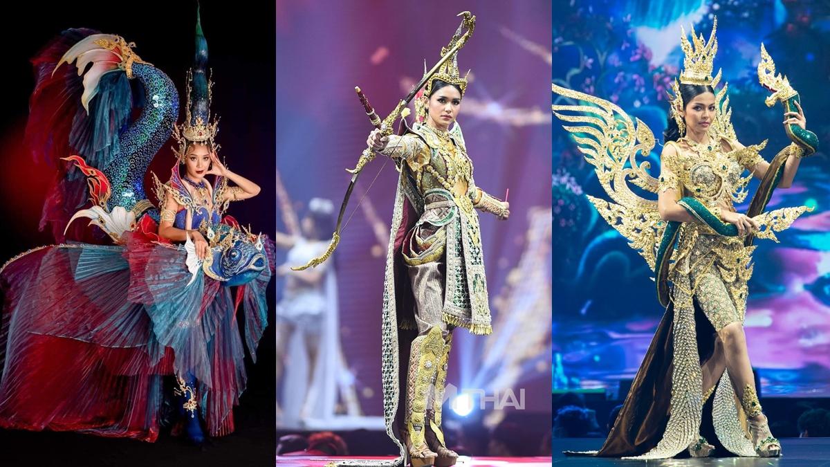 ชุดประจำชาติ ชุดประจำชาติไทย นางในวรรณคดี มิสยูนิเวิร์สไทยแลนด์ มิสยูนิเวิร์สไทยแลนด์2020