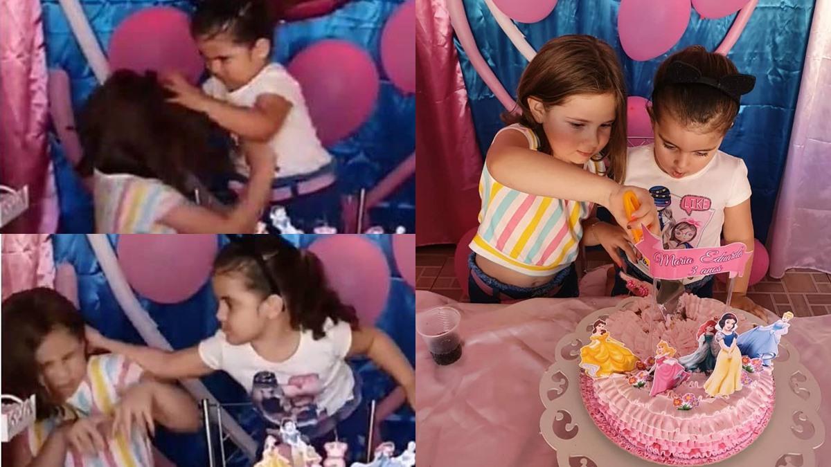 คนดังในโลกออนไลน์ คลิปแย่งเป่าเทียนวันเกิด คลิปไวรัล พี่น้องทะเลาะกัน เด็กน่ารัก