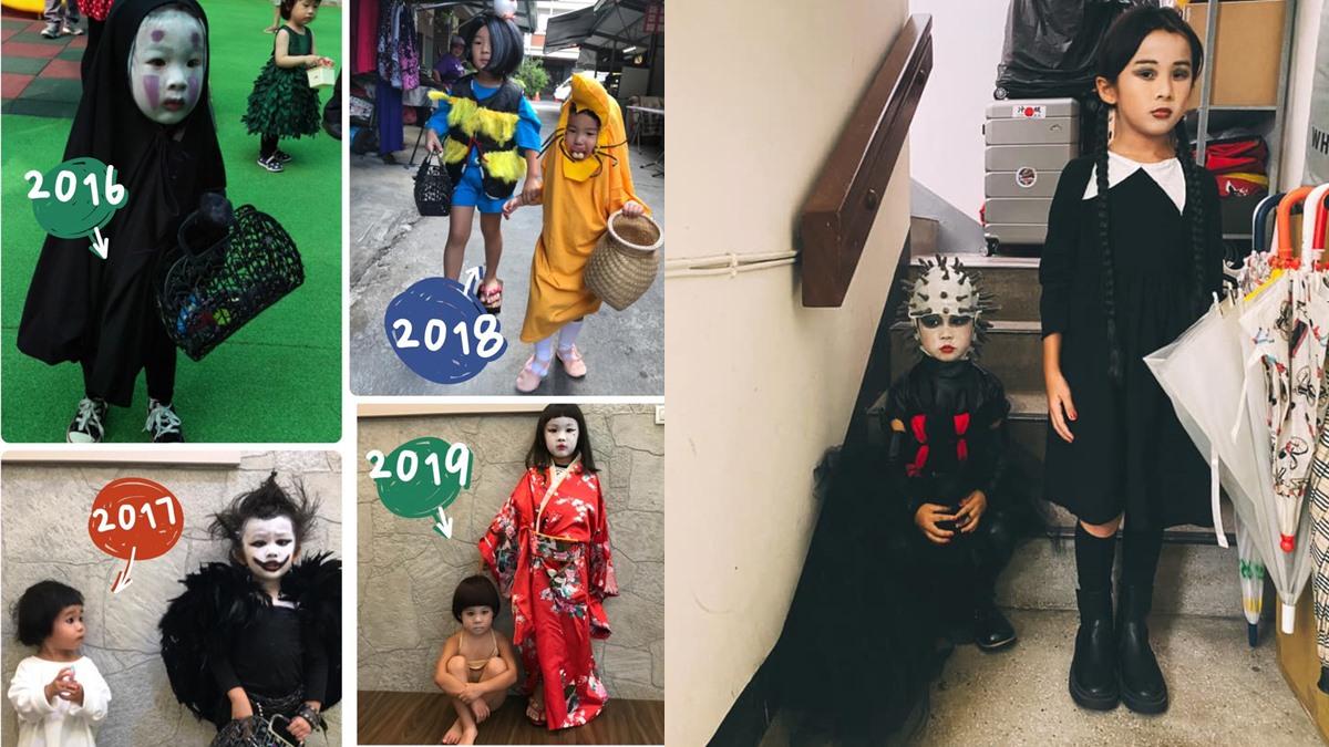 คอสตูมฮาโลวีน ฮาโลวีน เด็กจีนน่่ารัก เหมิงเหมิง แต่งตัวฮาโลวีน