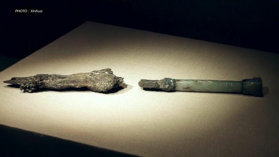 กระบี่ กระบี่เล่มแรกของจีน