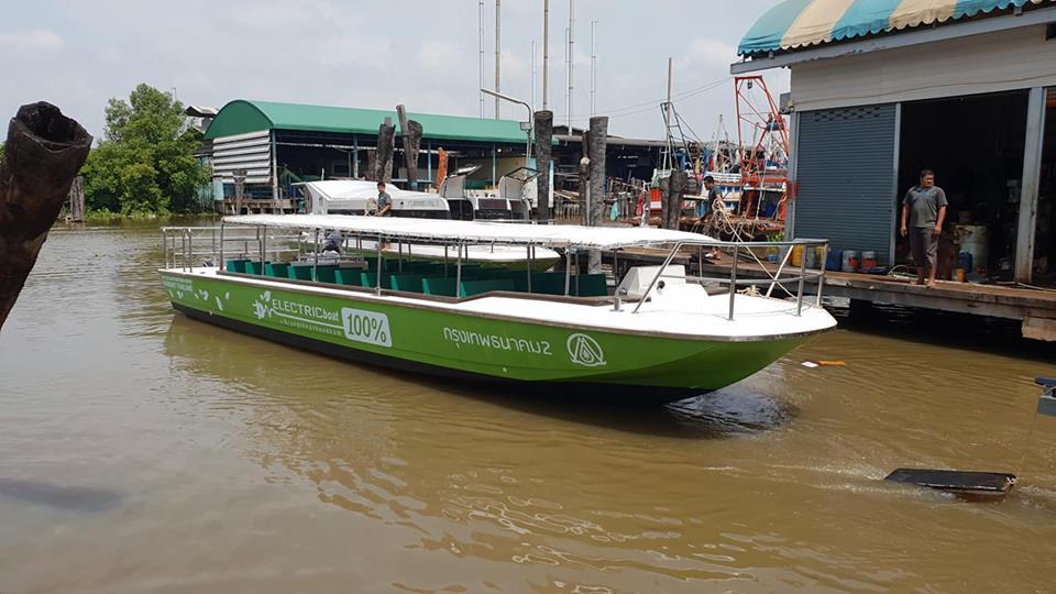 เรือไฟฟ้า เรือไฟฟ้าคลองผดุงฯ โครงการล้อ ราง เรือ