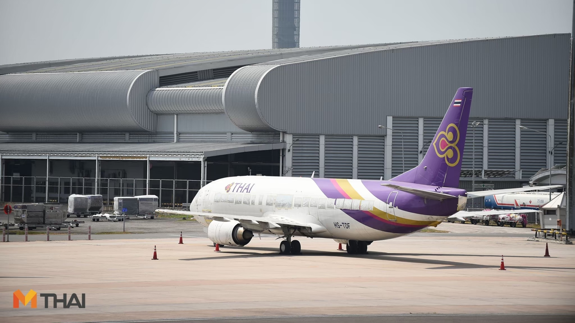 การบินไทย บินรับพรปีใหม่ สุขใจตลอดปี บินวน 99 วัด