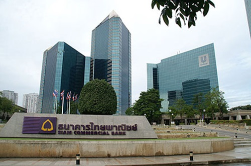 SCB สำนักงานใหญ่ ธนาคารไทยพาณิชย์ ม็อบ25พฤศจิกา
