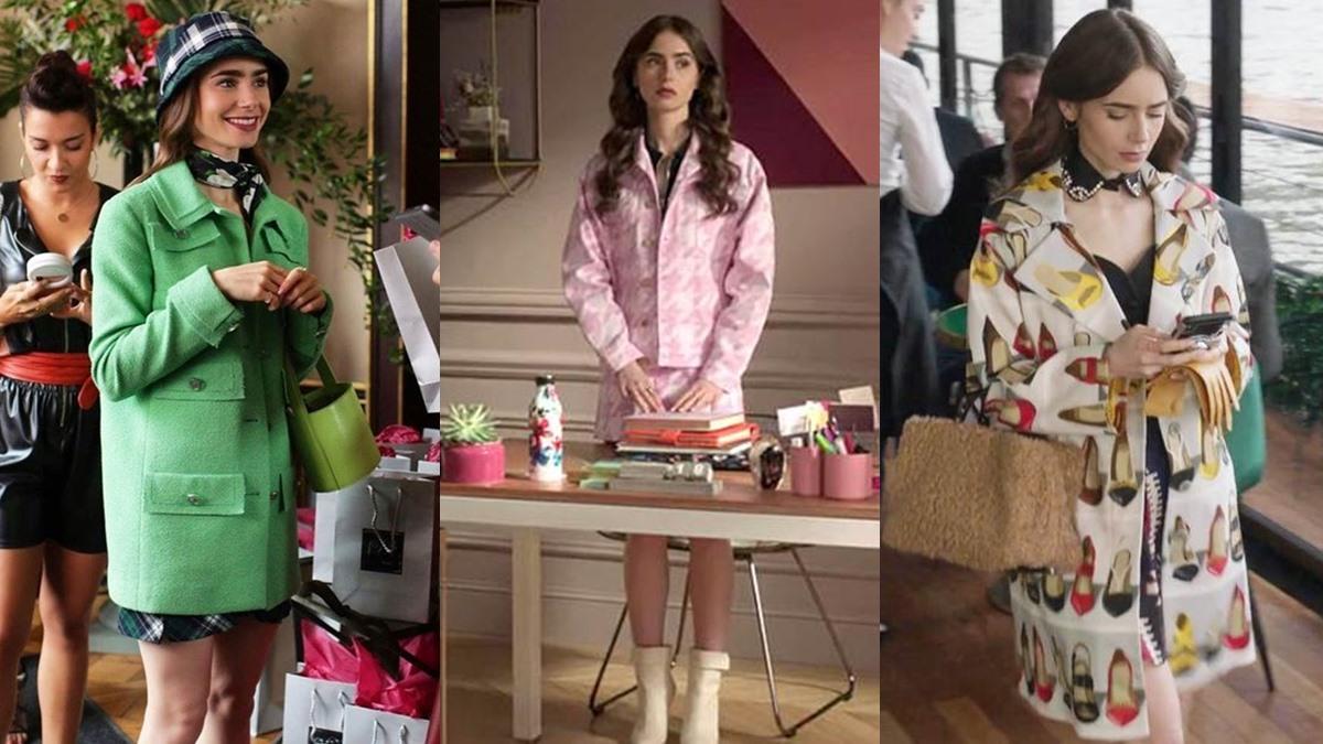 Emily in Paris ซีรีย์แฟชั่น เสื้อผ้าแบรนด์เนม แบรนด์เนม แฟชั่นซีรีย์ แฟชั่นเสื้อผ้า แฟชั่นแบรนด์เนม