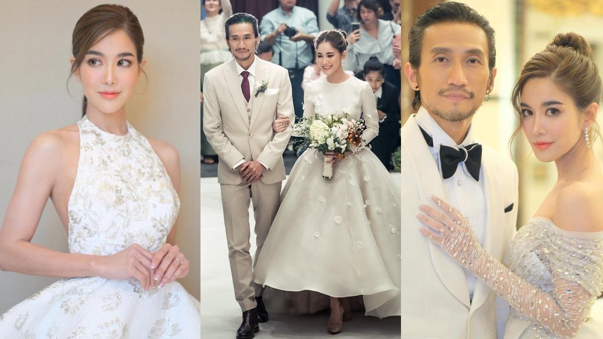 ก้อย รัชวิน ก้อย รัชวิน แต่งงาน งานแต่งงาน ก้อย รัชวิน ชุดเจ้าสาว ก้อย รัชวิน ชุดแต่งงาน ก้อย รัชวิน