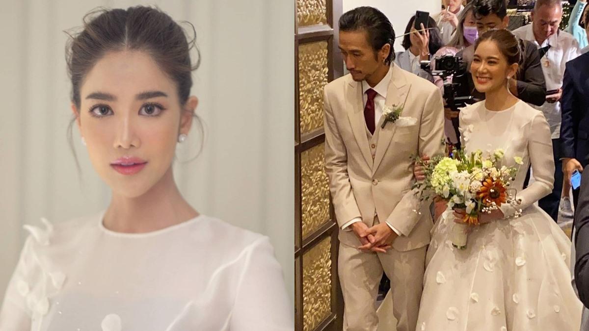 ก้อย รัชวิน ก้อย รัชวิน แต่งงาน งานแต่งงาน ก้อย รัชวิน เจ้าสาวโพเอม แต่งหน้าเจ้าสาว