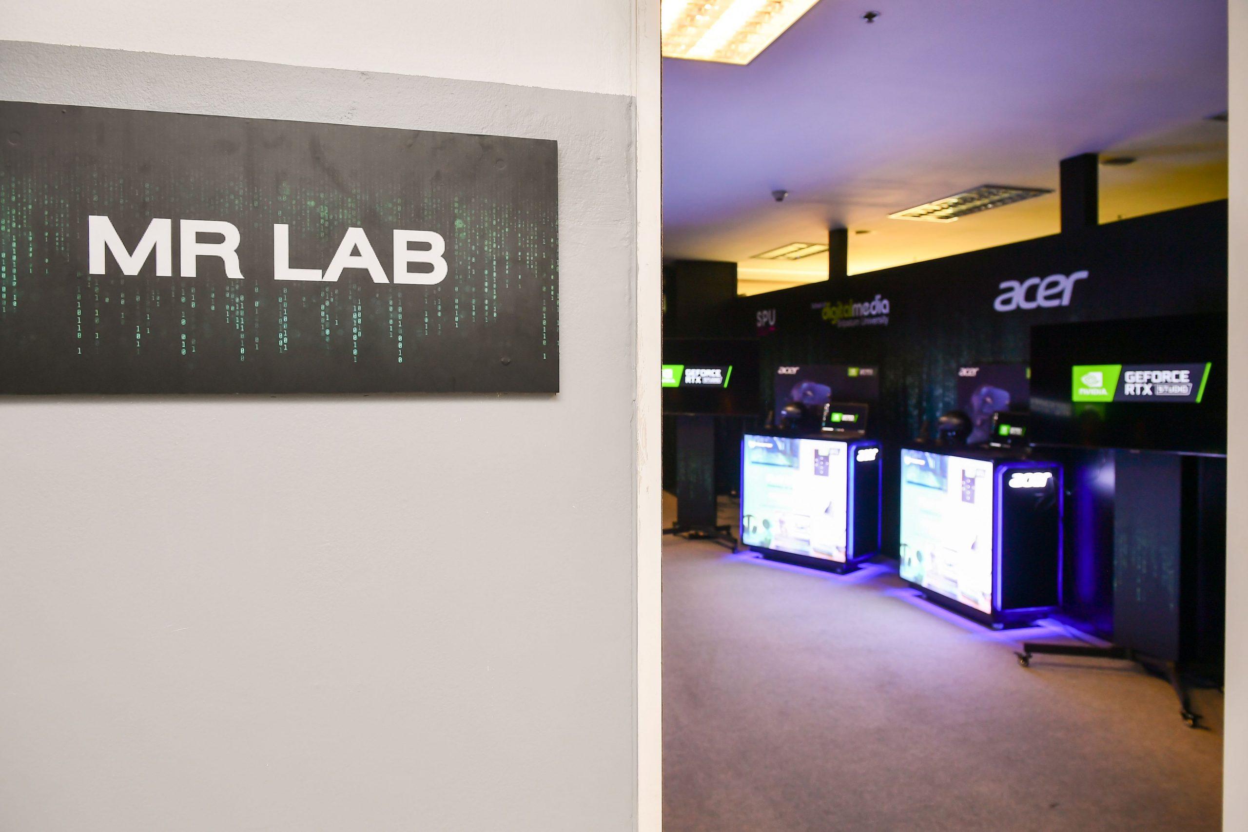 Acer Digital Nvidia ดิจิทัล มหาวิทยาลัยศรีปทุม