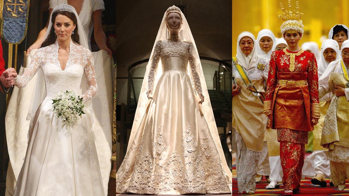 งานแต่งงานราชวงศ์ ชุดเจ้าสาว ชุดเจ้าสาวราชวงศ์ ชุดแต่งงาน