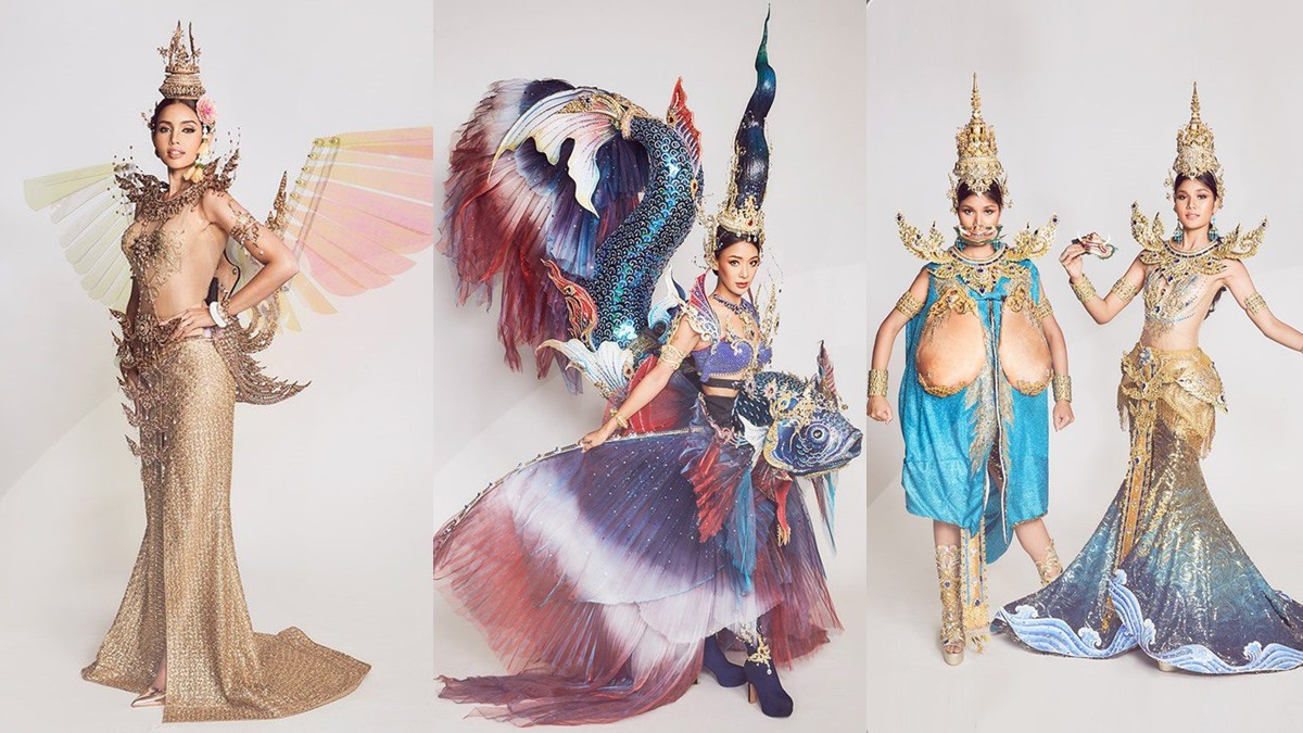 ชุดประจำชาติ ชุดประจำชาติมิสยูนิเวิร์สไทยแลนด์ ชุดประจำชาติไทย มิสยูนิเวิร์สไทยแลนด์