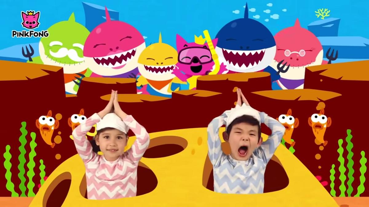 Baby Shark music เพลงเกาหลี