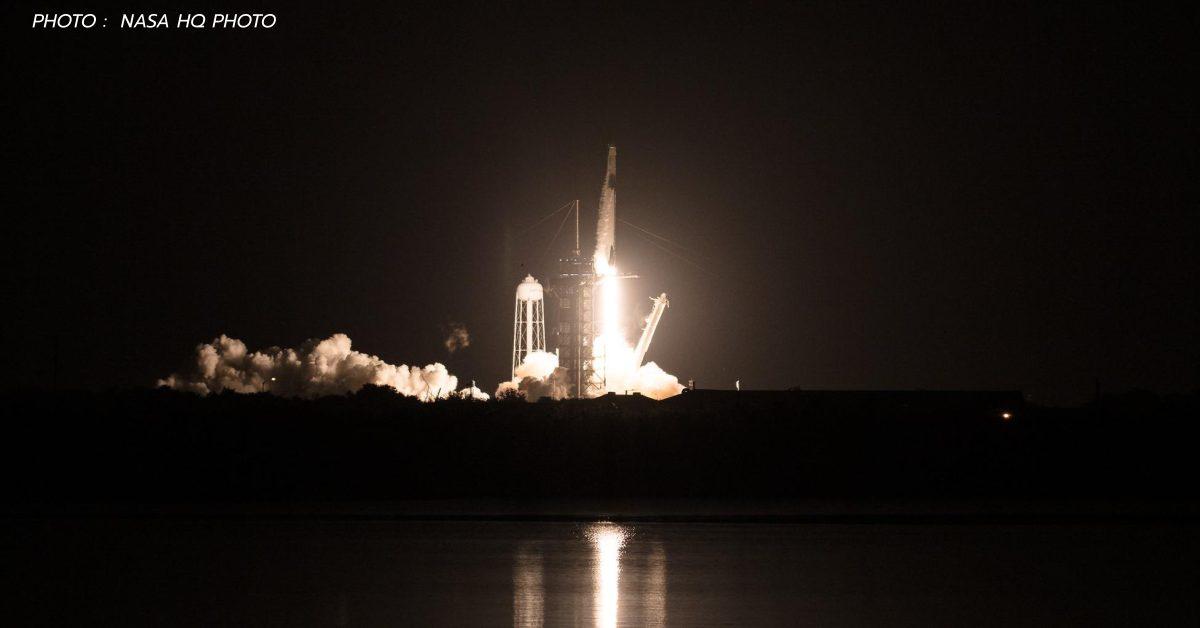 Crew-1 Falcon 9 nasa