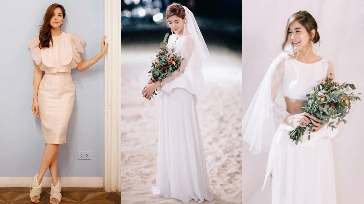 ก้อย รัชวิน ก้อย รัชวิน แต่งงาน ชุดเจ้าสาว ก้อย รัชวิน ชุดแต่งงาน ชุดแต่งงาน ก้อย รัชวิน ปาร์ตี้สละโสด