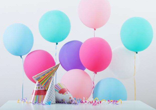balloon balloonaa ลูกโป่งวันเกิด วันเกิด สีมงคล