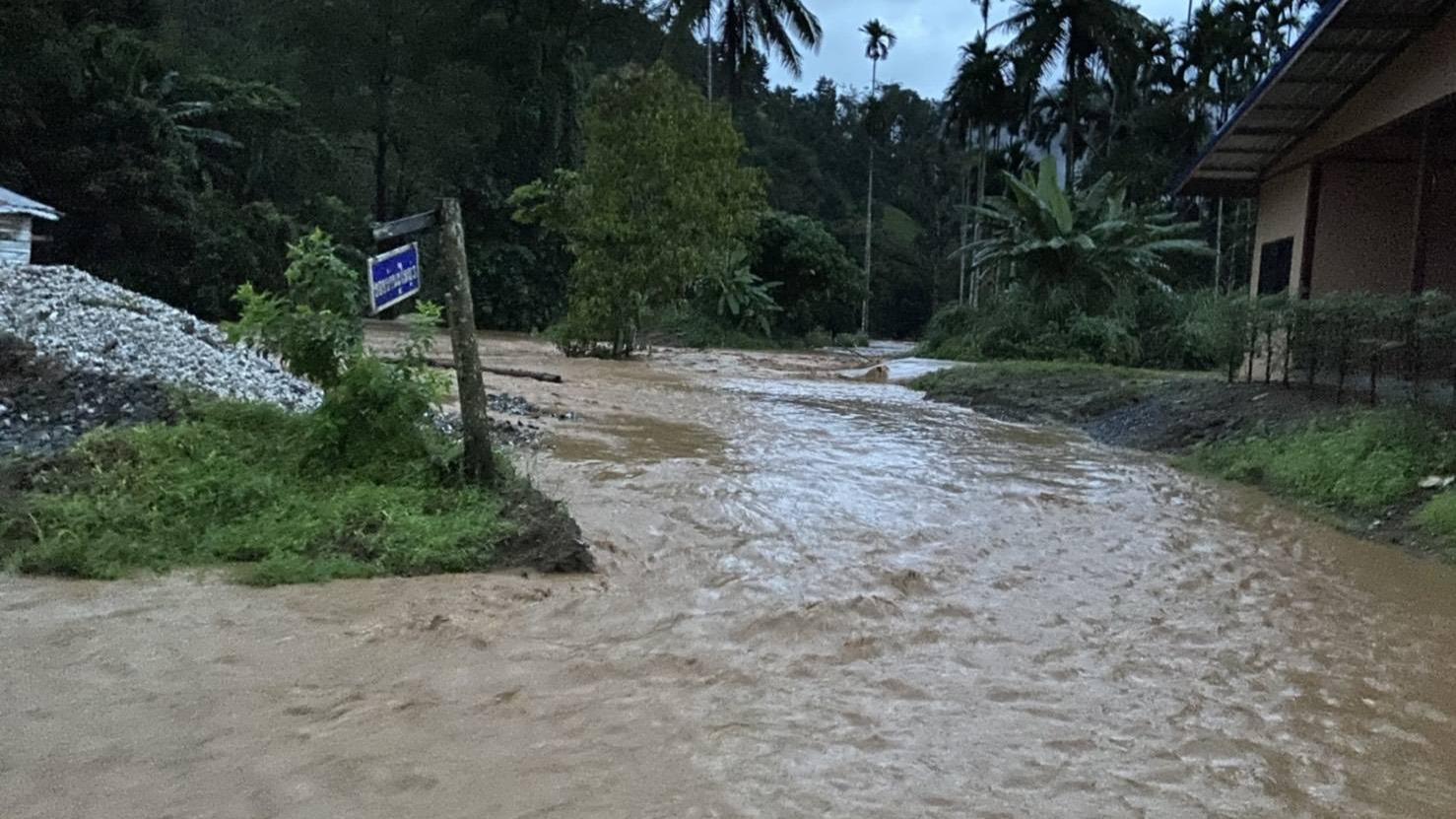น้ำท่วม สถานการณ์น้ำท่วมภาคใต้