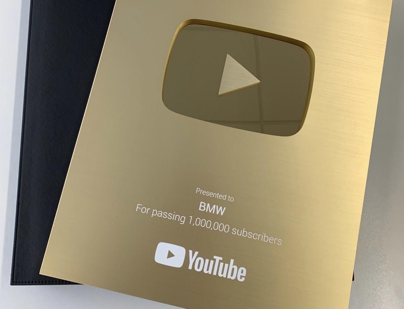#NEXTGen2020 BMW Golden Button Award youtube