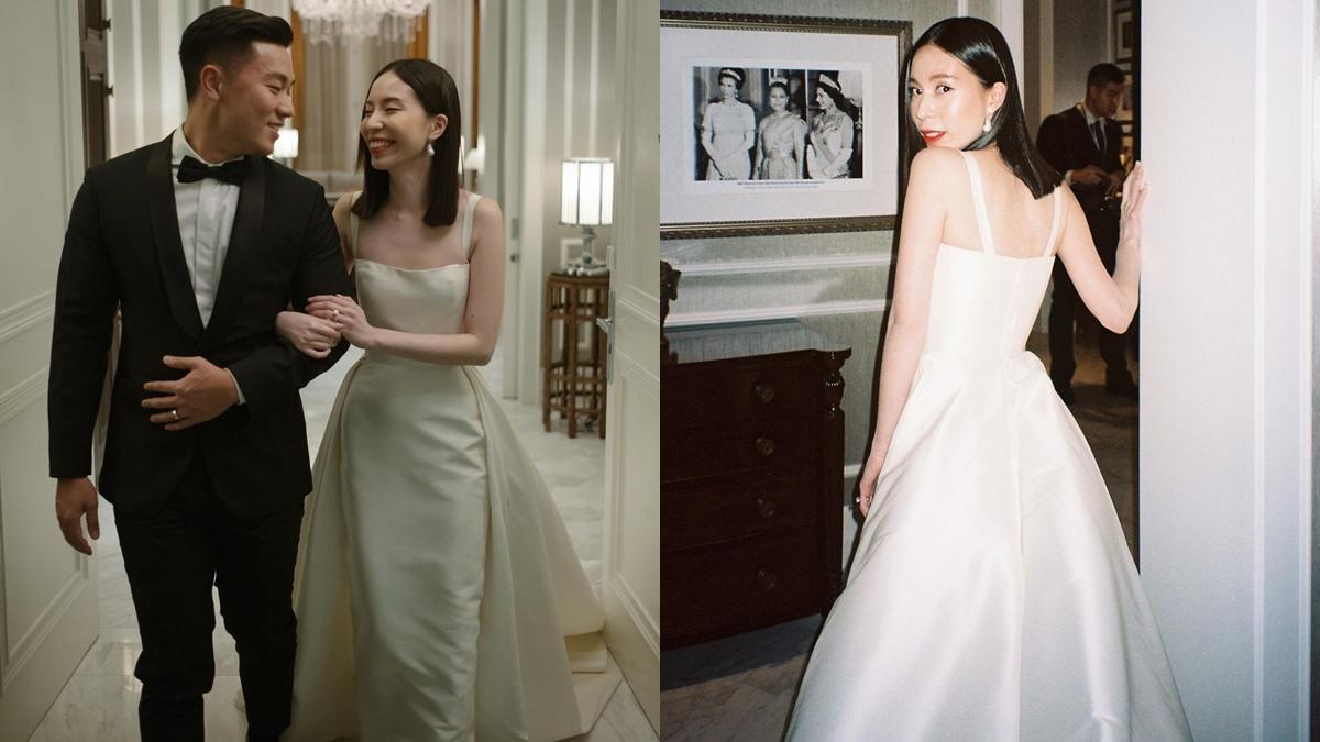 จูนจูน พัชชา ชุดเจ้าสาว ชุดแต่งงาน ชุดแต่งงาน จูนจูน พัชชา ทรงผมเจ้าสาว เจ้าสาวเด็กแนว