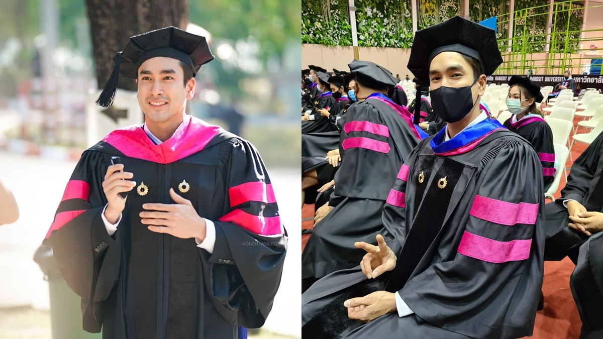 ณเดชน์ คูกิมิยะ ดารารับปริญญา มหาวิทยาลัยรังสิต