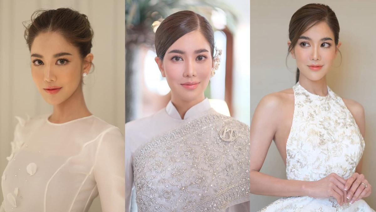 ก้อย รัชวิน ก้อย รัชวิน แต่งงาน ลุคแต่งหน้าเจ้าสาว แต่งหน้าเจ้าสาว แต่งหน้าเจ้าสาว ก้อย รัชวิน