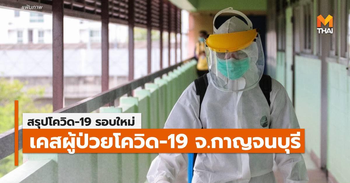 กาญจนบุรี การระบาดรอบใหม่ โควิด-19 ไทม์ไลน์