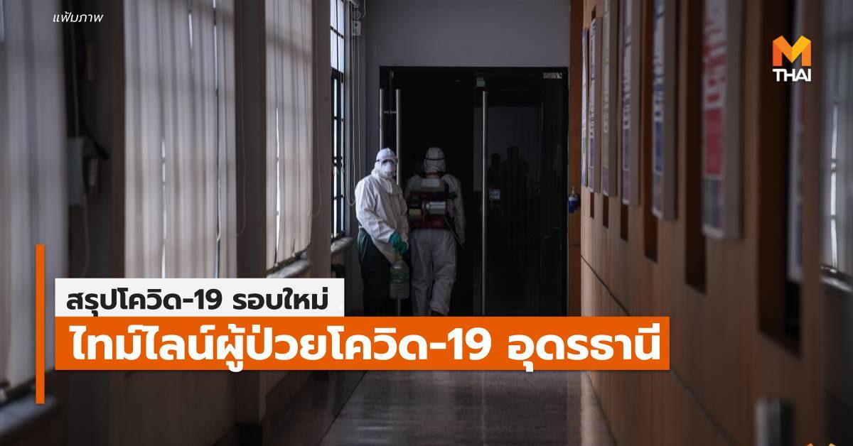 การระบาดรอบใหม่ อุดรธานี โควิด-19 ไทม์ไลน์