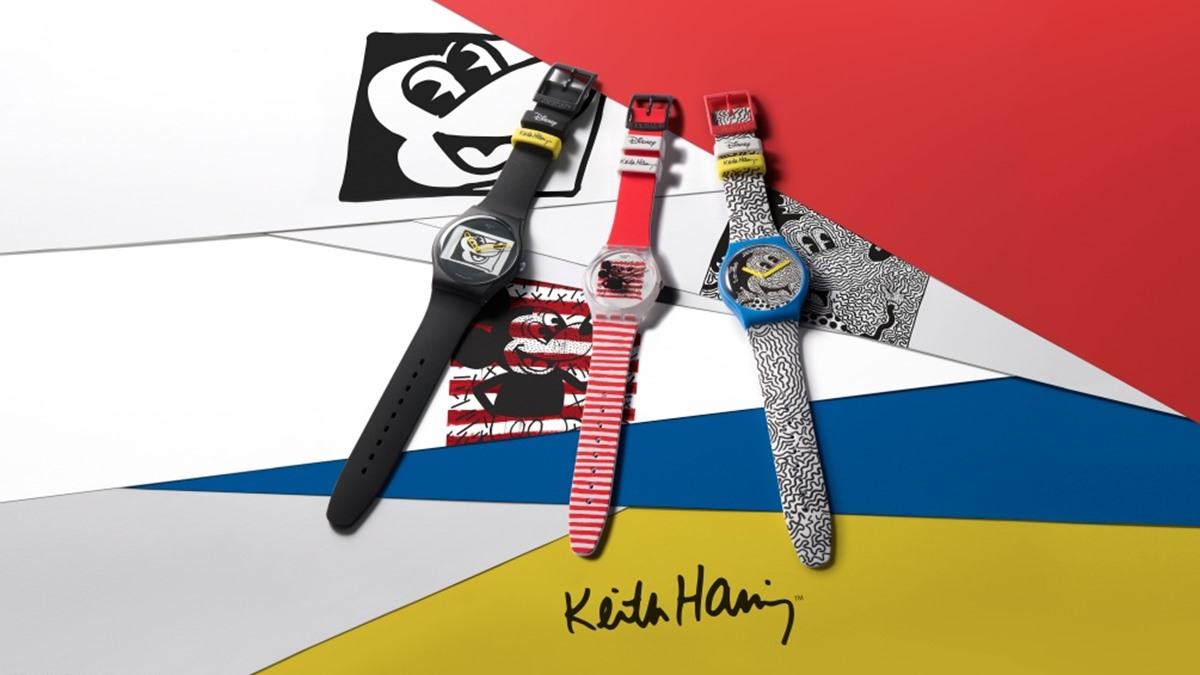 Keith Haring MICKEY MOUSE นาฬิกาข้อมือ มิกกี้ เม้าส์ แฟชั่นนาฬิกา