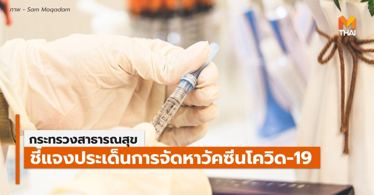 AstraZeneca กระทรวงสาธารณสุข วัคซีนโควิด-19 สยามไบโอไซน์