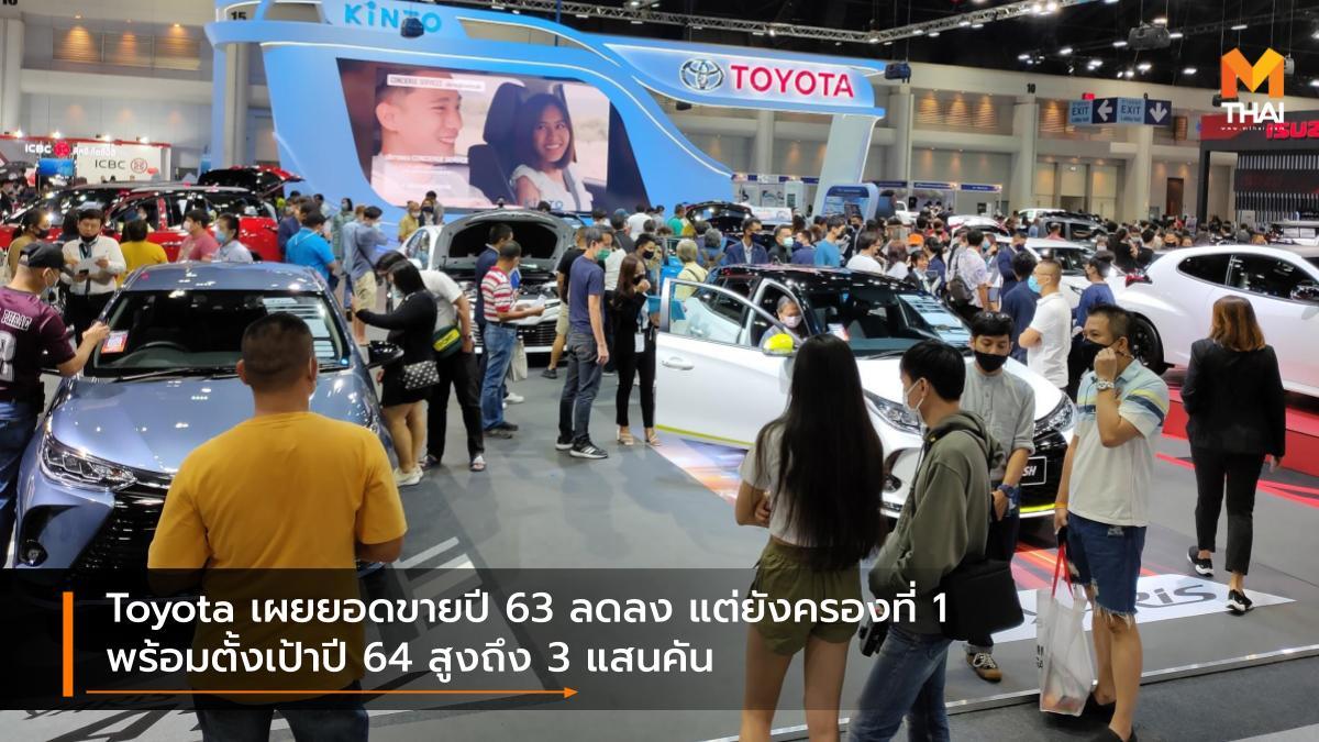 Toyota ยอดขายรถยนต์ โตโยต้า